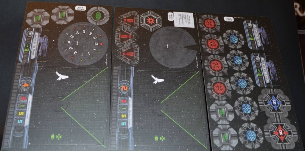 Pappteile II des Lambda Shuttle