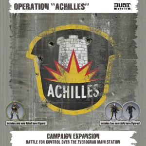 Dust: Tactics - Achilles Die inzwischen 9. Kampagnenbox