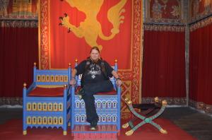 Ihre Majestät bittet zur Audienz