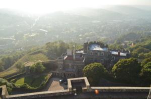 Allein für diesen Ausblick über Dover hat es sich schon gelohnt!