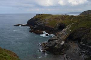 Rechts unten sind die Höhlen Merlins ... So steht es geschrieben!