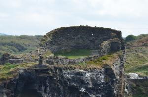 Restaurierungswahn adè - oder: Tintagel Castle, nachdem ich da 10 Jahre gewohnt habe