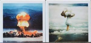 Greenhouse George, vom 8.Mai 1951 auf den Marshallinseln und Plumbbob Priscilla, welche am 24.Juni 1957 in Nevada explodierte