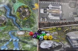 Star Wars: Zeitalter der Rebellion Einsteigerbox - Bodenpläne und Würfel