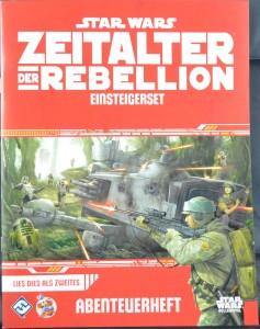 Star Wars: Zeitalter der Rebellion Einsteigerbox - Das Abenteuerheft