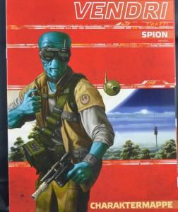 Star Wars: Zeitalter der Rebellion Einsteigerbox - Vendri, der Spion Charakterbogen