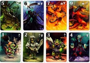 Welcome to the Dungeon - Die Monsterkarten