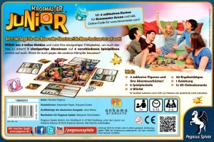 Krosmaster Junior - Boxenrückseite