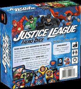 Justice League: Hero Dice - Superman von hinten