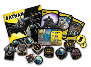 Justice League: Hero Dice - Spielmaterial