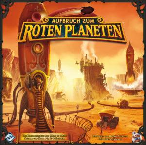 Aufbruch zum roten Planeten - Cover