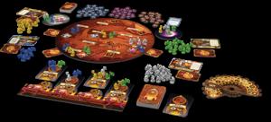 Spielaufbau Aufbruch zum roten Planeten