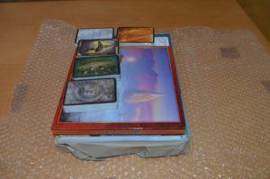 Im zweiten Knisterpaket dann die limitierte Fassung, die neben dem hardcover auch alle Boni enthält.