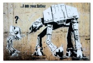 Wanddeko von Bimango: Banksy: I am your father