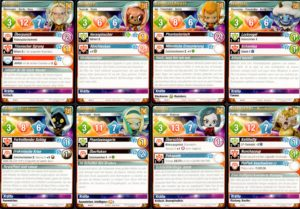Krosmaster 2.0: Die beiliegenden Charaktere