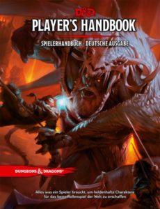 Das bereits existierende deutsche Cover zum Dungeons & Dragons Spielerhandbuch