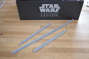 Star Wars - Legion Der Maßstab