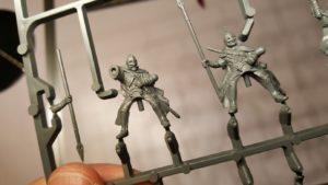 Abb. 2: Klassische Citadel-Miniaturen: Die zwölf Reiter von Rohan (Die Schlacht auf den Pelennor-Feldern)