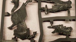 Abb. 3: Das Modell des Anführers der guten Seite fasziniert mit feinen, sehr scharfen Details auf den Rüstungen (Die Schlacht auf den Pelennor-Feldern)